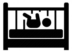 safe sleep crib